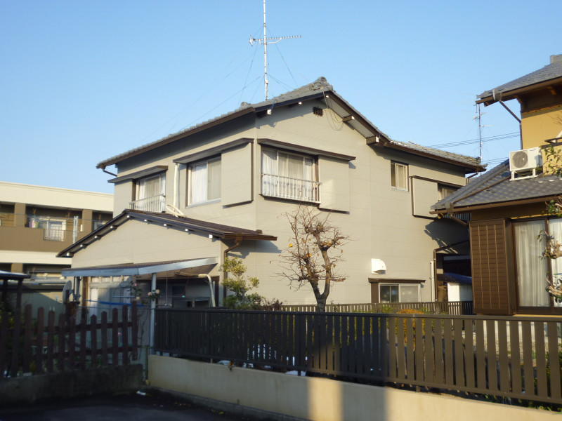岐阜県の屋根外壁リフォーム 中村ワークス