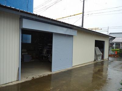 岐阜塗装センター施工実績写真 屋根重ね葺き、外壁張替え工事