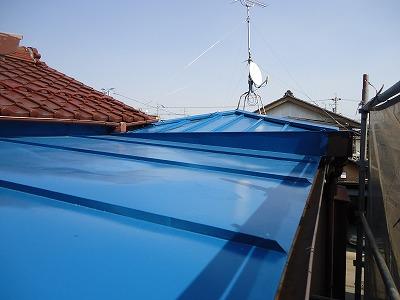 岐阜塗装センター施工実績写真 屋根塗装工事、外壁重ね張り工事