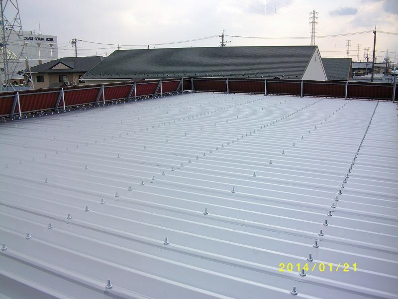 岐阜塗装センター施工実績写真 屋根塗装工事