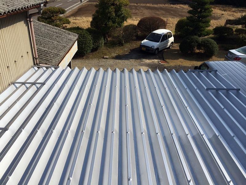 岐阜塗装センター施工実績写真 屋根防水塗装