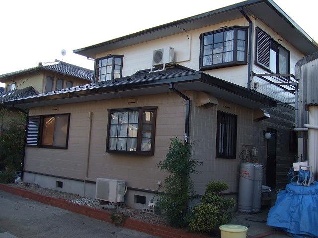 岐阜塗装センター施工実績写真 屋根、外壁塗装工事