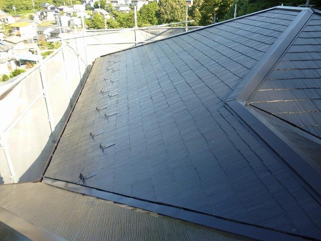 岐阜塗装センター施工実績写真 雨樋、屋根塗装工事