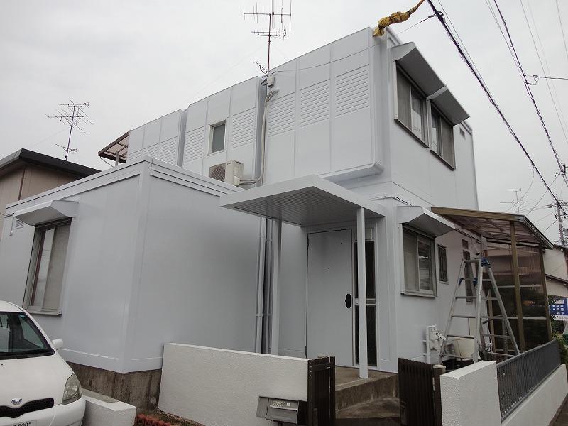 岐阜塗装センター施工実績写真 屋根 外壁塗装工事