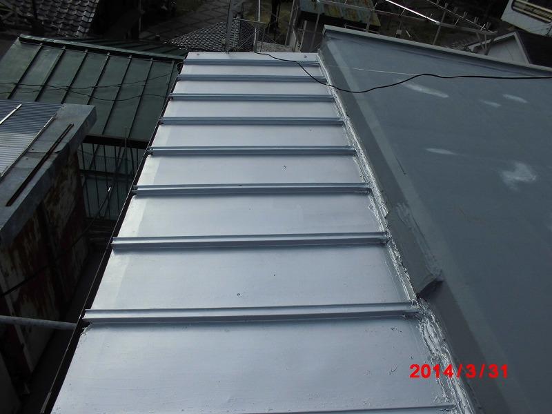 岐阜塗装センター施工実績写真 防水改修及び屋根塗装工事