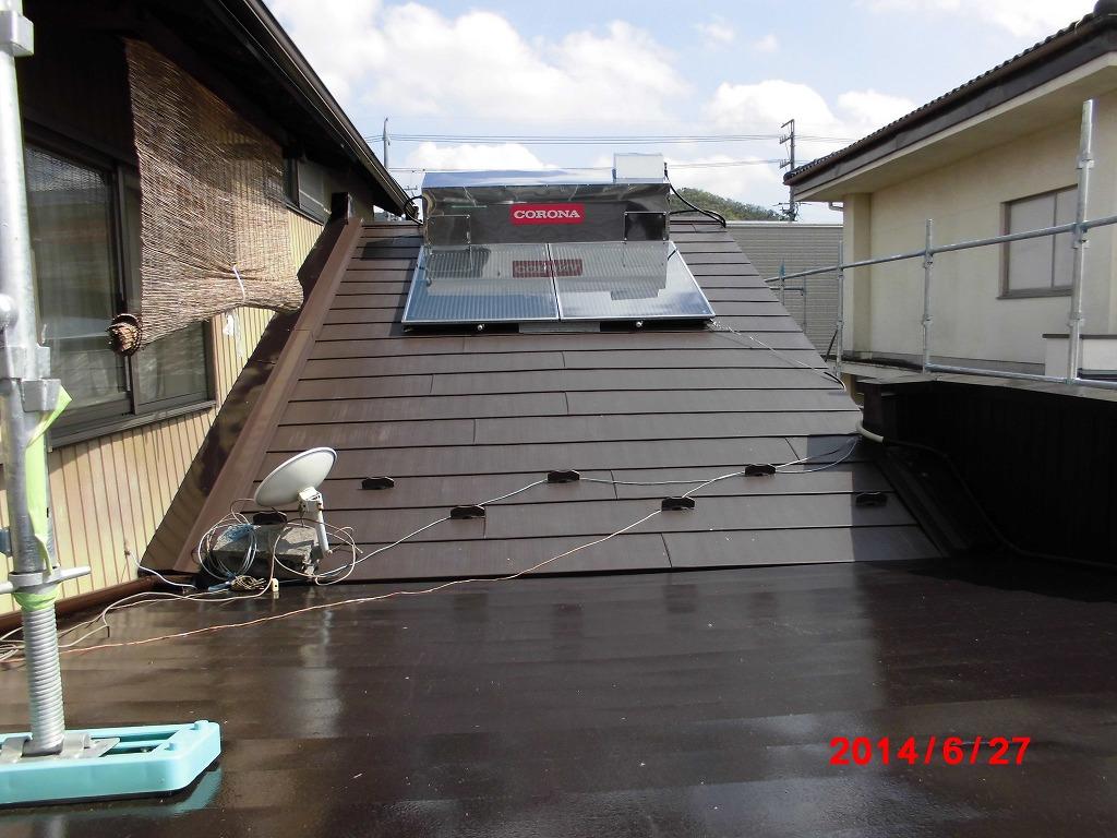 岐阜塗装センター施工実績写真 屋根取替・塗装工事