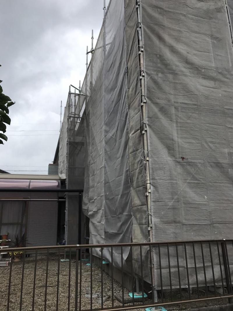施工前の写真