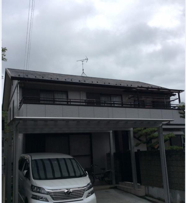 岐阜塗装センターの施工前写真 屋根外壁塗装